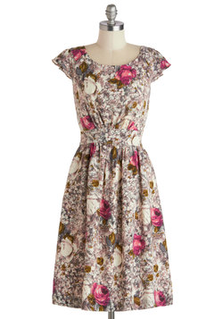 Get What You Dessert Dress in Rose