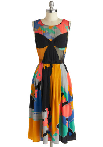 Tracy Reese Drop of Watercolor Dress