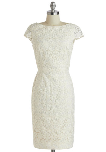 Grand Gardenia Dress