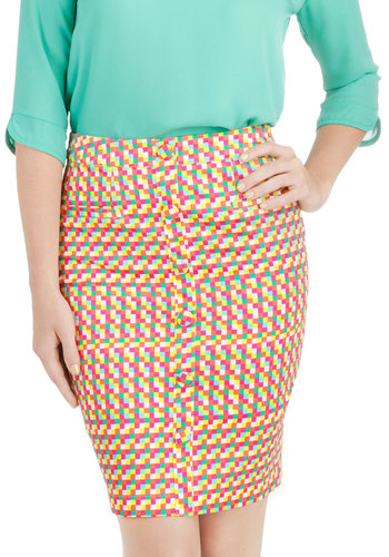 Pixelate for the Party Skirt