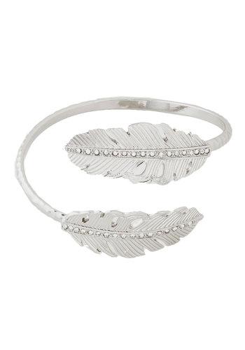 Metallic Memories Bracelet - Silver, Solid, Rhinestones, Fall, Silver