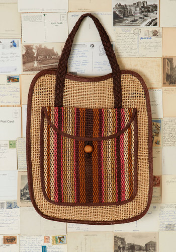 Vintage Let's Jetty Tote
