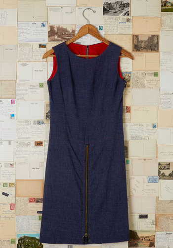 Vintage Fashionably Navigate Dress