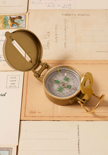 Vintage Fun Direction Compass