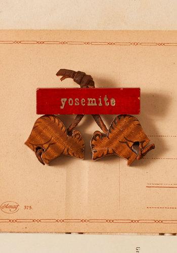 Vintage Yosemite Pin