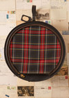 Vintage Plaid to Come Along Suitcase