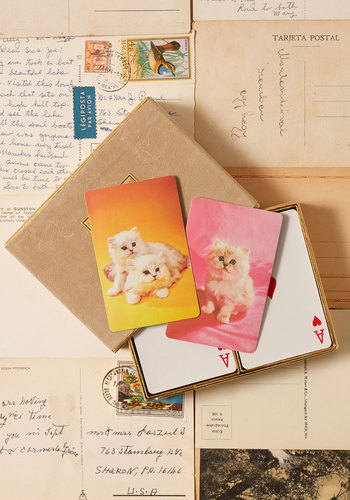 Vintage All Pets Are Off Card Set