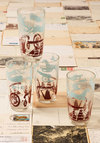 Vintage The Best is History Glass Set