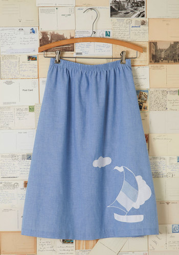 Vintage Highway to Swell Skirt