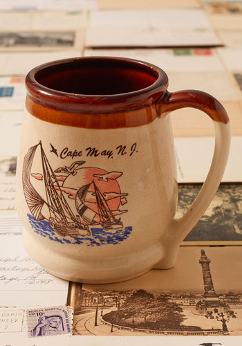 Vintage Cap May Souvenir Mug