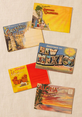 Vintage West Trip Ever Postcard Set