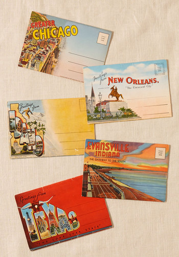 Vintage Our Best from the Midwest Postcard Set