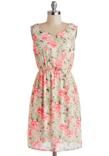 Bold Blooms Dress