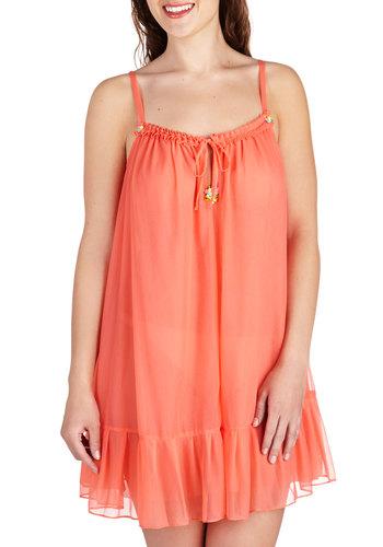 Betsey Johnson Telephone Flower Nightgown