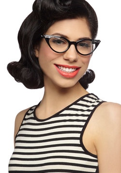 See Eye to Cat-Eye Glasses in Black