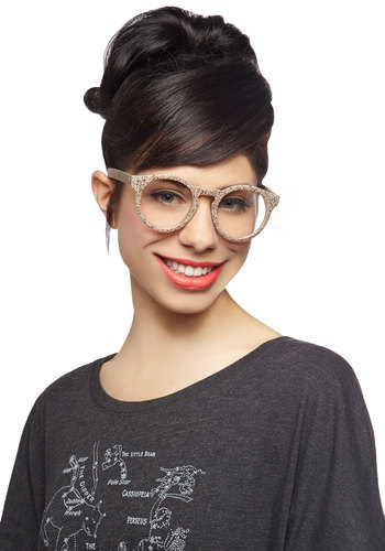 Stone the Beat Around Glasses - Multi, Print, Scholastic/Collegiate