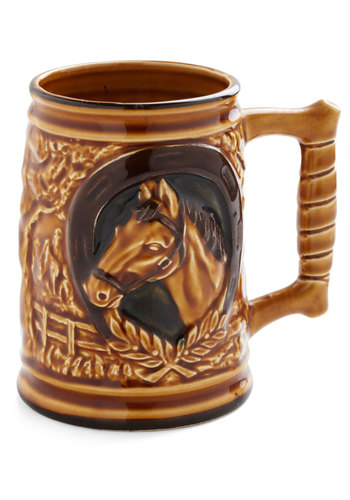 Vintage Saddle-day Morning Mug