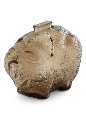 Vintage Pig Day Out Money Bank