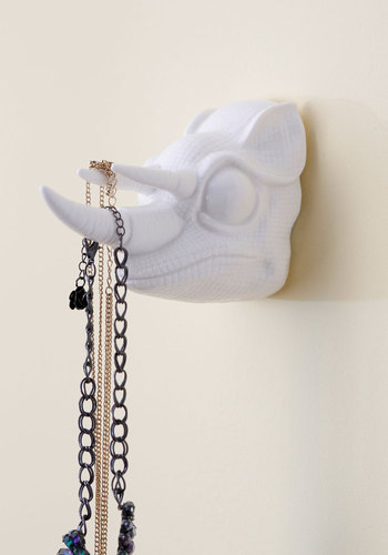 Chamele-on Point Wall Hook by IMM Living - White, Solid, Dorm Decor, Quirky