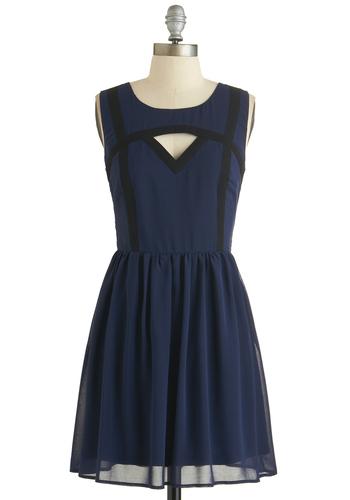 Midnight Serene Dress