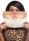 Beard A Resemblance Notebook in Cat - Print with Animals, Scholastic/Collegiate, Variation, Cats, Good