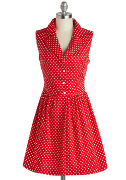 Taking on Tulsa Dress in Dotty