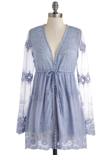 The Luxury of Lavender Cardigan