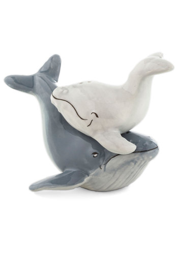 Whale Watch and Learn Shaker Set - Blue, Nautical, Grey, Solid, Good