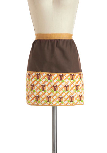 Vintage Two Swoops of Sugar Apron