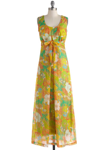 Vintage Hot to Tropic Dress