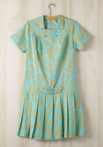 Vintage Counting Croquet Dress in Plus Size