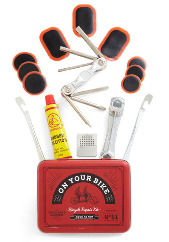 Fixie Upper Bike Tool Kit - Red, Handmade & DIY, Summer, Good