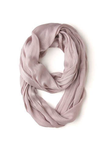 Brighten Up Circle Scarf in Mauve - Pink, Solid, Casual, Variation, Pastel, Minimal, Basic, Fall