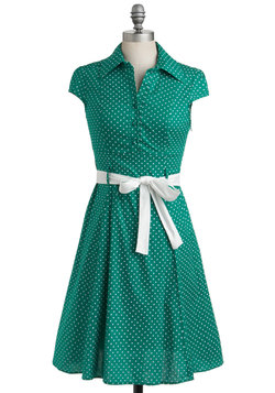 Hepcat Dress in Clover
