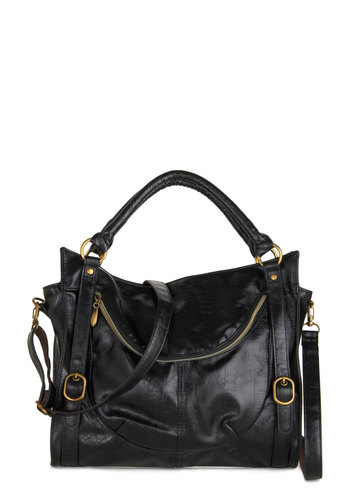 Searching for Sea Glass Bag in Onyx - Black, Gold, Solid, Buckles, Faux Leather, Variation, Gals, Work, Boho, Statement, Urban