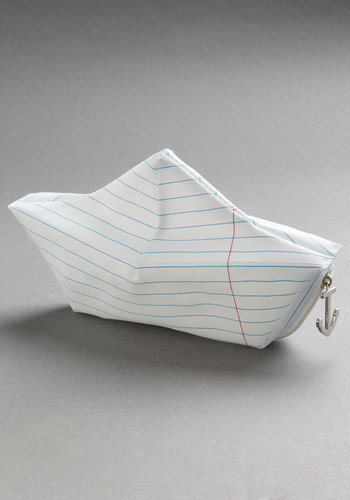 Day Rafter Day Pouch - Nautical, White, Stripes, Good