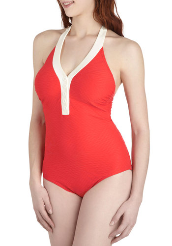 The Shore at Sunrise One Piece Swimsuit