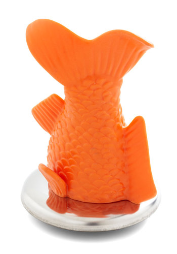 Happy Go Guppy Bath Plug - Orange, Quirky, Good