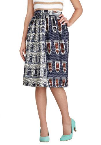Upside Townhouse Skirt