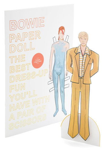 Bowie Paper Doll Set - Handmade & DIY, Music, Good