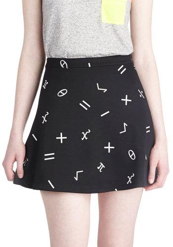 Critical Math Skirt