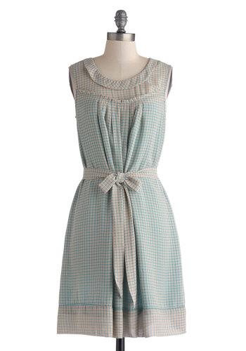 Plaid Plotline Dress