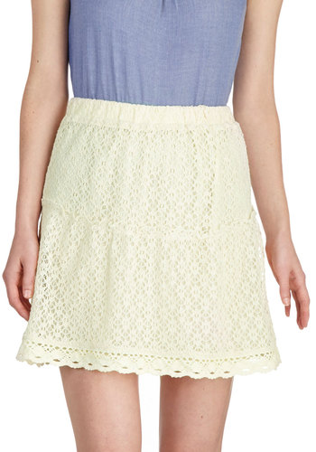Tuberose to the Occasion Skirt