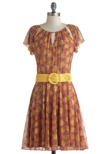 Coreopsis Attract Dress