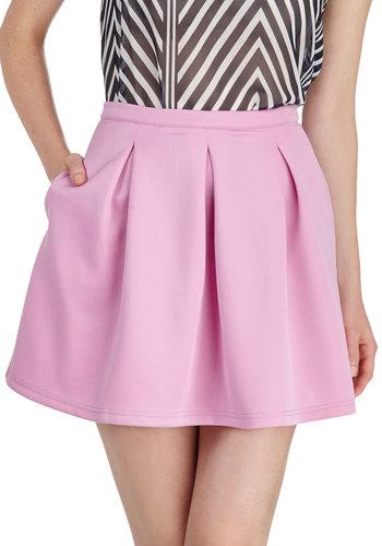 Daily Dynamo Skirt in Peony