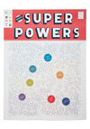 The Illustrious Omnibus of Superpowers #2 Poster - Multi, White, Dorm Decor, Better