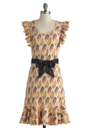 Good Times Roll Dress in Leaves
