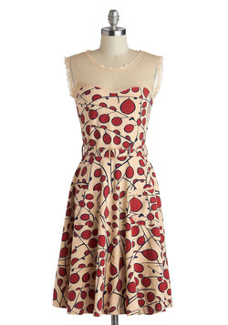 Blogging Molly Dress in Berries