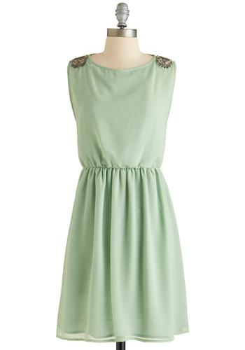 Embellished Afternoon Dress