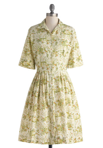Vintage Welcome, One and Toile Dress